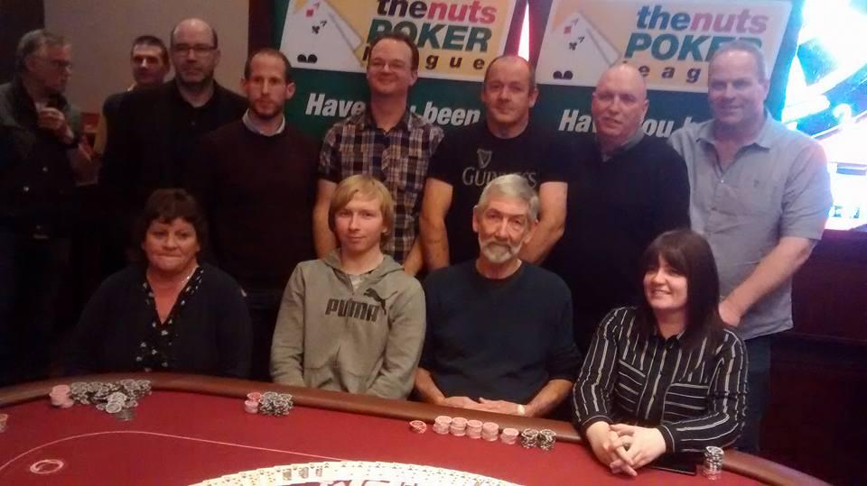 Nuts poker league ayrshire roulette pour porte patio